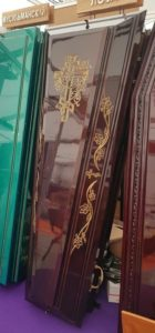 """Гроб """"ПЕГАС-ЛОЗА-4Т"""" Венге (Арт.: ФПГР-4Т) на выставке """"НЕКРОПОЛЬ"""" Городская Похоронная Служба РИТУАЛ https://gps-ritual.ru/"""